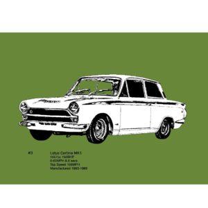 Lotus Cortina MK1- Limited Edition