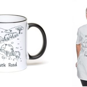 #10 Trunk Road bundle: T-shirt and mug
